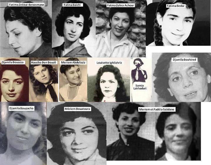 بطلات الجزائر بلا حجاب