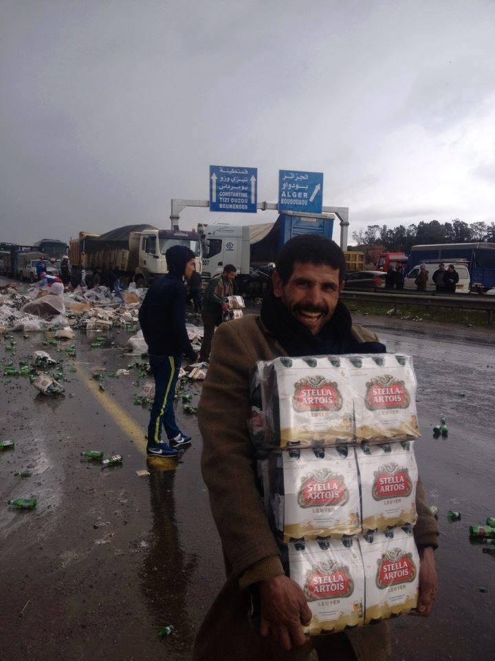سرقة الخمر في الجزائر
