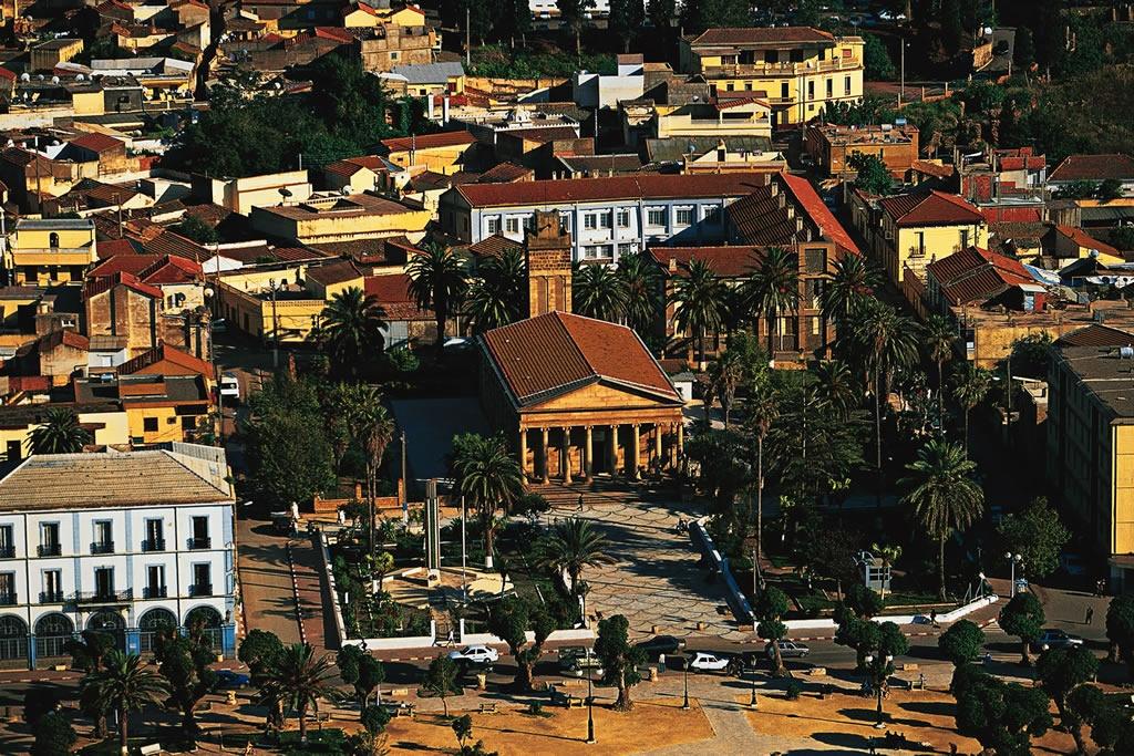 صورة لمدينة شرشال الجزائرية
